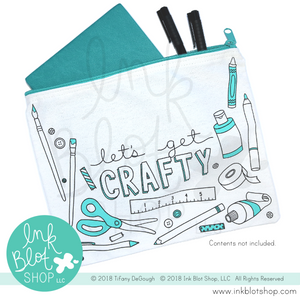 Let's Get Crafty :: Zipper Pouch