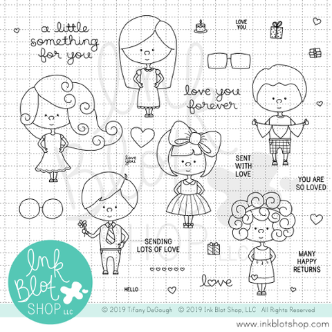 Little Something :: 6x8 Clear Stamp Set