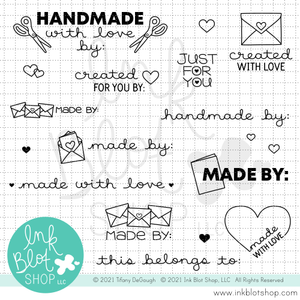 Made For You :: 4x6 Clear Stamp Set