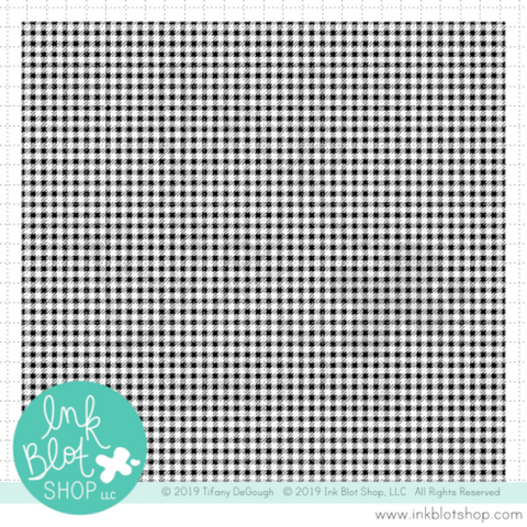 Micro Gingham Background :: 6x6 Clear Stamp Set
