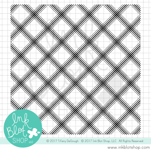 Plaid Background :: 6x6 Clear Stamp