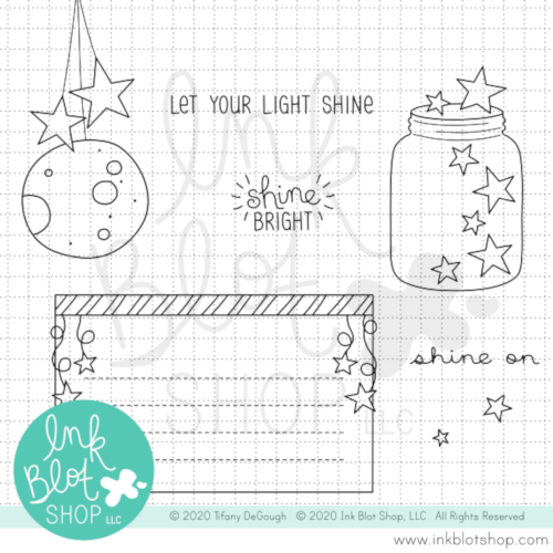Shine On :: 4x6 Clear Stamp Set