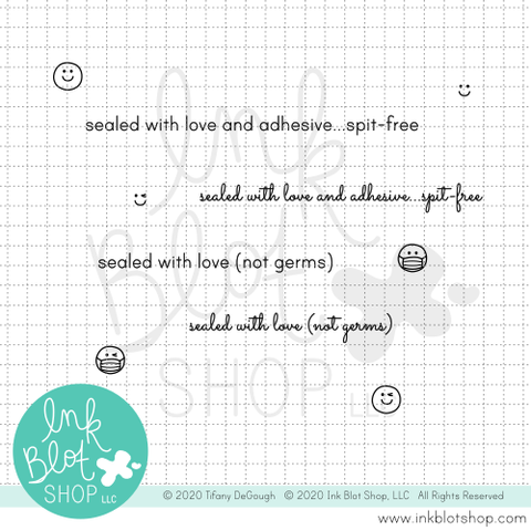 Spit-Free :: 2x4 Clear Stamp Set