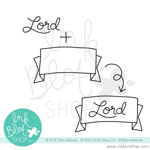 Trinity Names :: 4x6 Clear Stamp Set