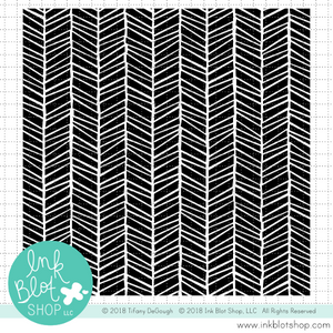 Wild Hatch Herringbone Background :: 6x6 Clear Stamp