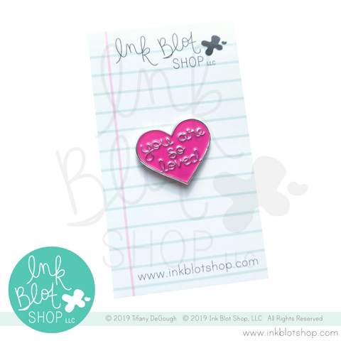 You Are So Loved Heart :: Enamel Pin