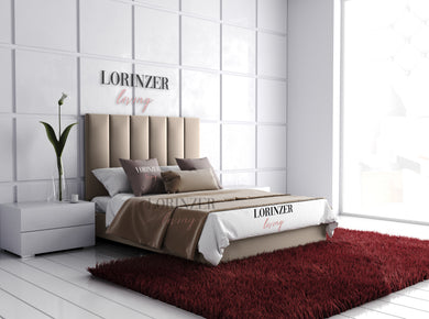 Cerberus Panelled Bed - Lorinzer Living