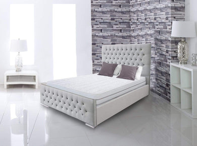Penelope Upholstered Bed Bed Frame Prestige Furnishings UK