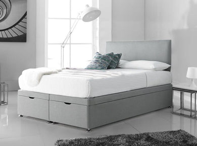 Plain Ottoman Storage Bed - Lorinzer Living