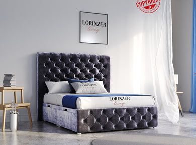 Alban Divan Ottoman Storage Bed - Lorinzer Living