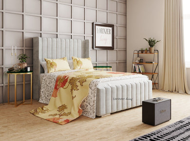 Frazer Winged Bed - Lorinzer Living