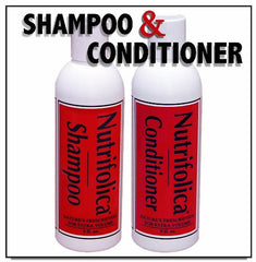 Nutrifolica Hair Loss Shampoo and Volumizing Conditioner