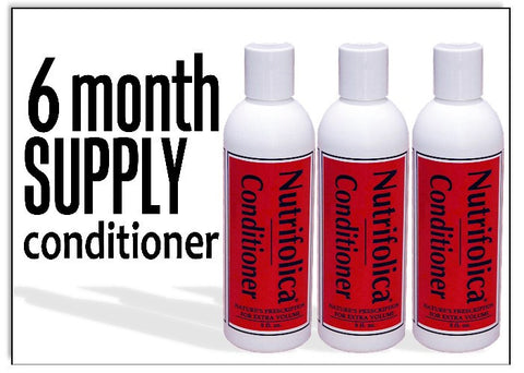 Nutrifolica Volumizing Conditioner - 6 Month Supply
