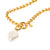Illume Pearl Chain Necklace in Gold