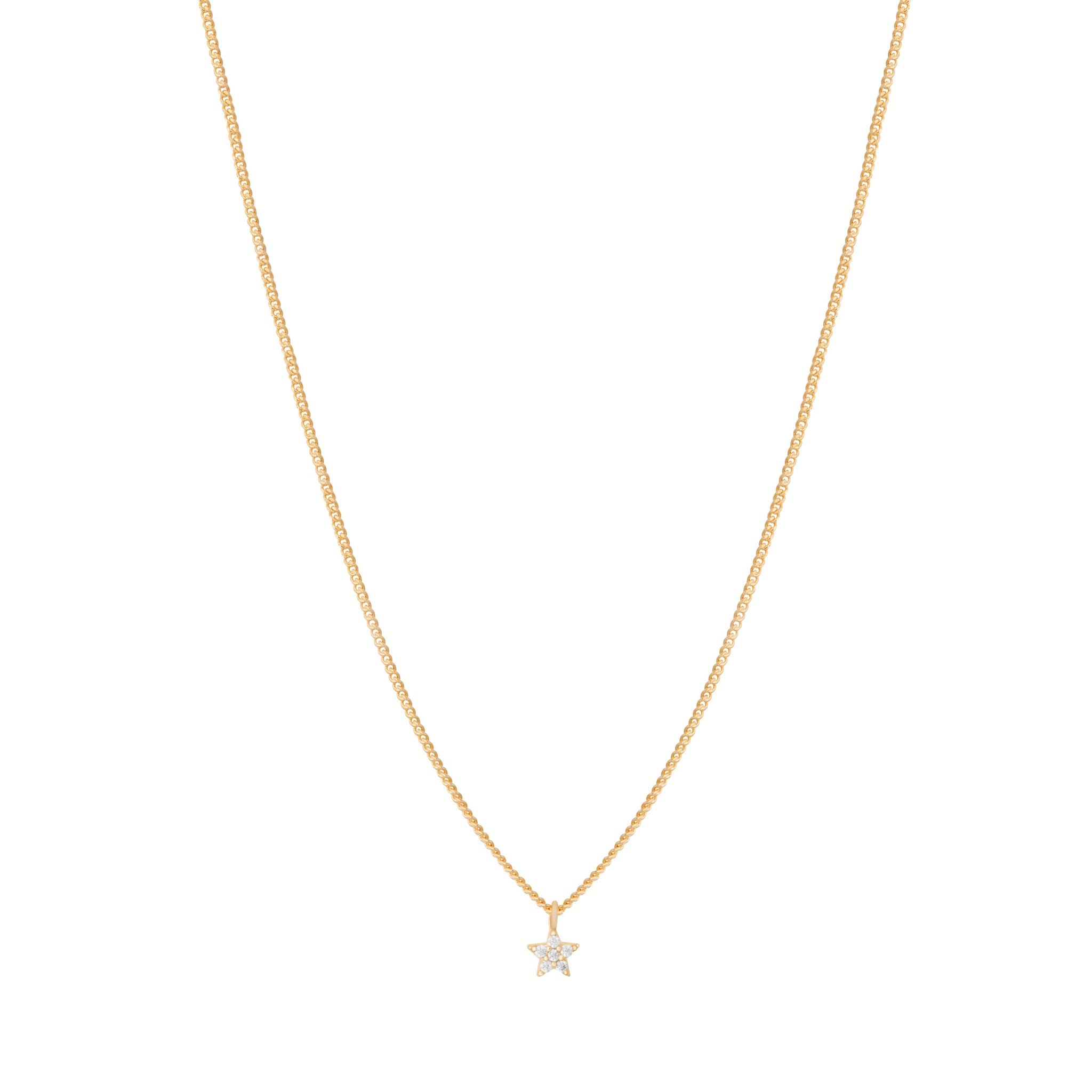 Mystic Star Necklace in Gold