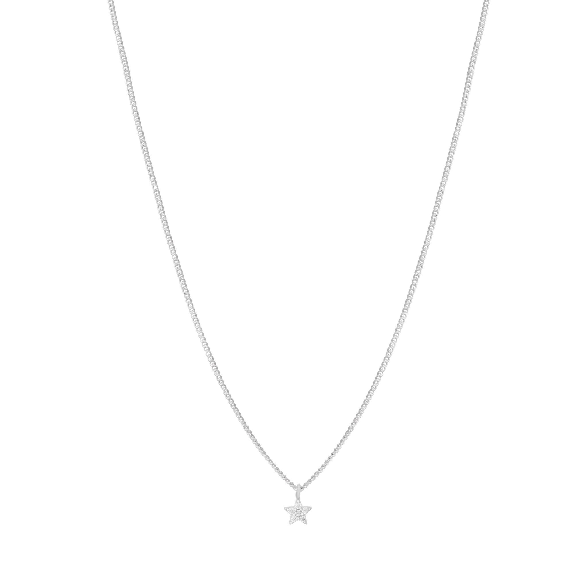 Mystic Star Necklace in Silver