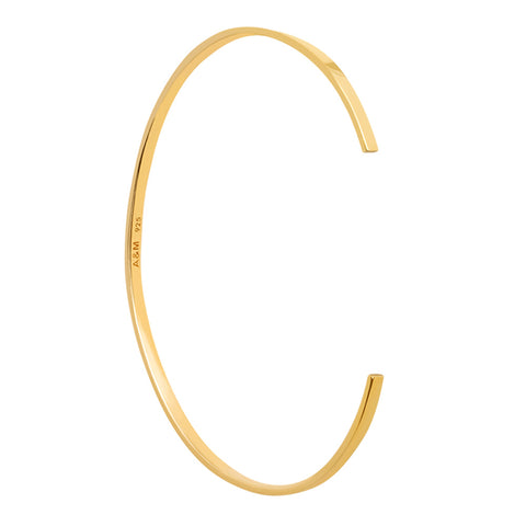 gold stacking bangle