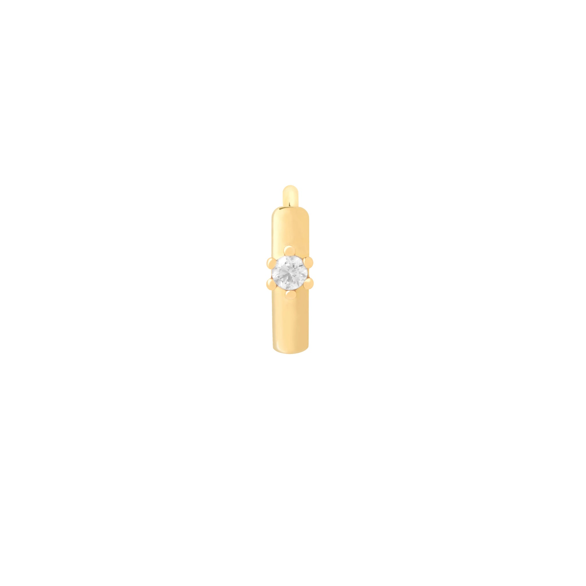Flora Crystal Clicker in Gold