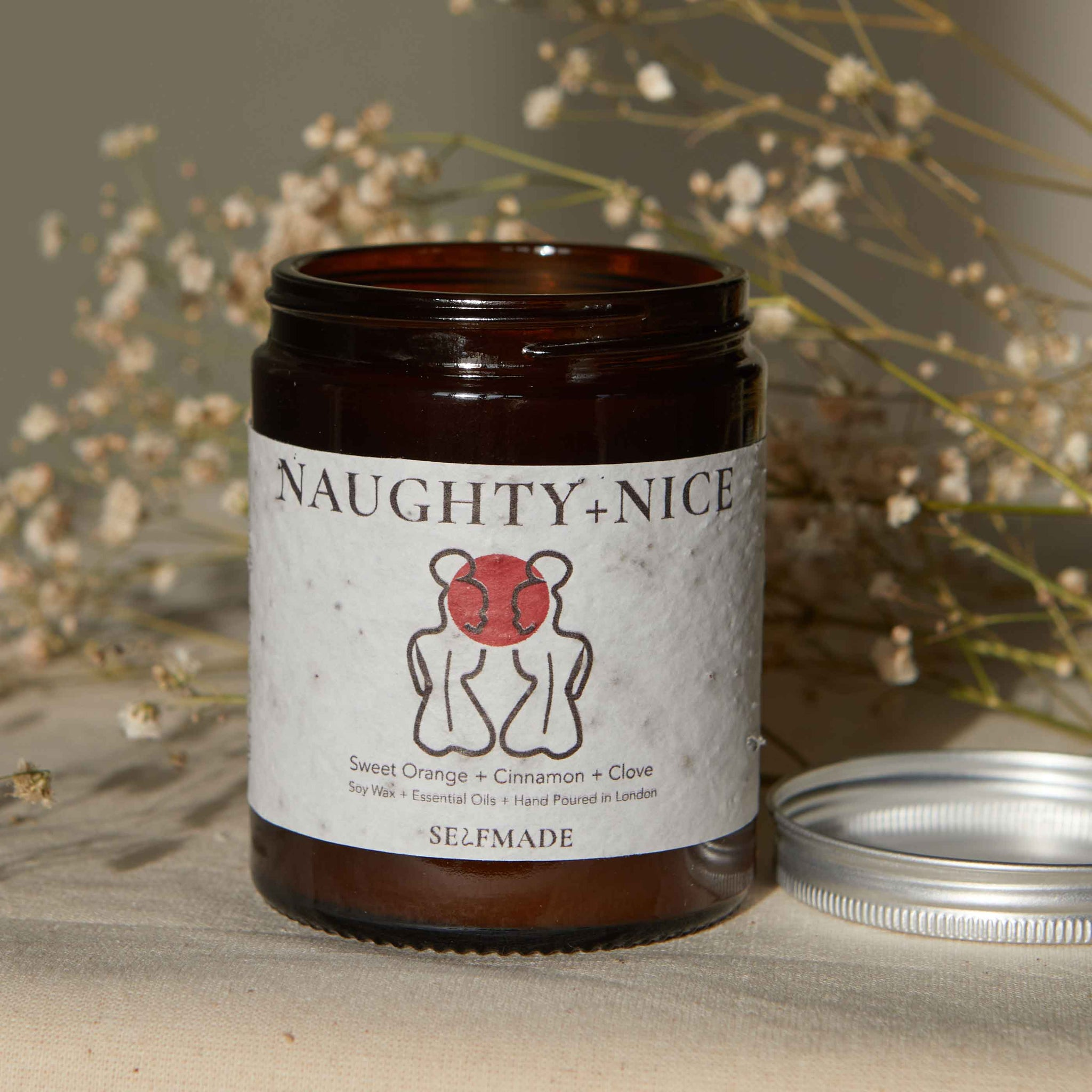 Naughty & Nice Scented Candle