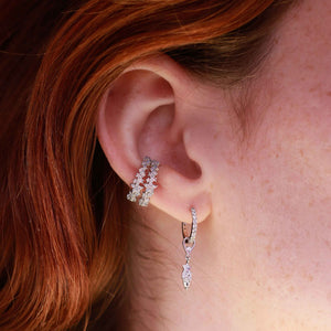 Star & Stones Earring Charm in Silver