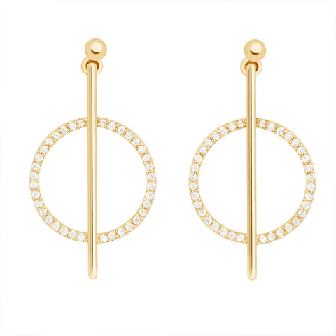 Venus Earrings in Gold