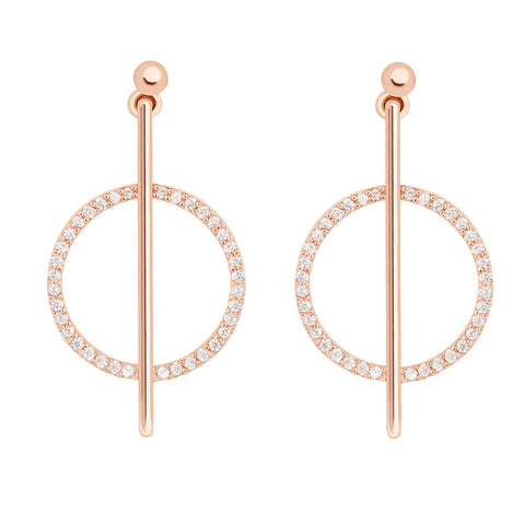 Venus Earrings in Rose Gold