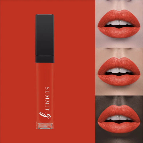 Liquid Matte Lipstick #7 - Tangerine I Lip stain | Lips | Highly Pigmented Make-up - Summit-Gate