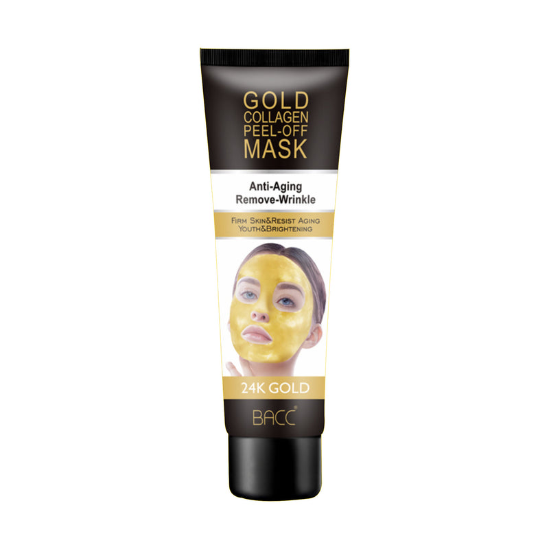 24K Gold Collagen Peel off face mask Anti-Wrinkle Face Mask Lifting Firming Moisturize