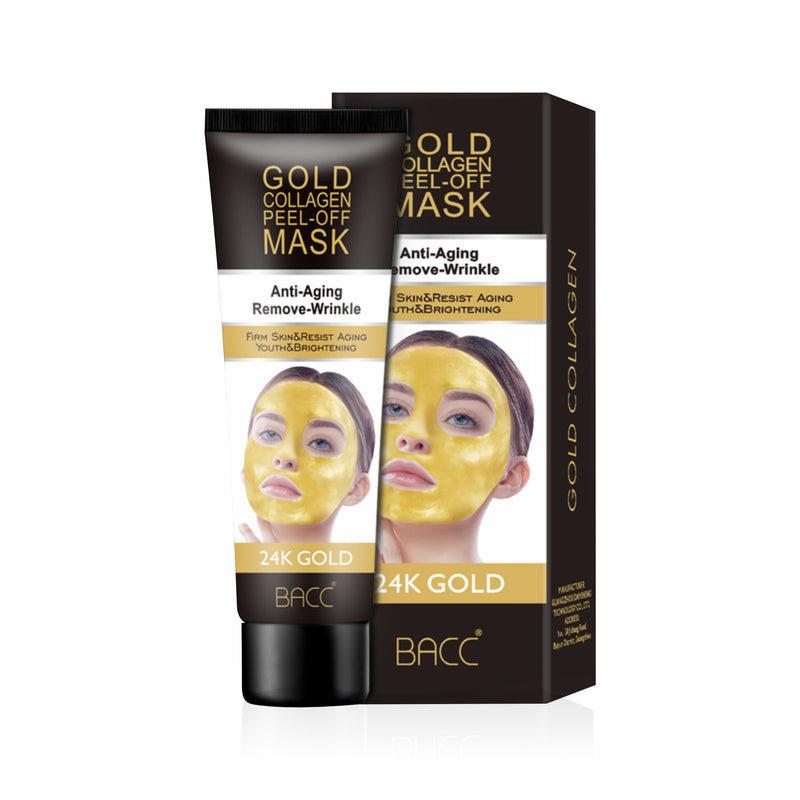 24K Gold Collagen Mask (120g) Peel off face mask Brightening Anti-Ageing Face Mask