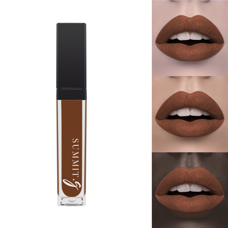 Matte Liquid Lipstick #11 - Toffee I Lip stain | Lips | Highly Pigmented Make-up - Summit-Gate