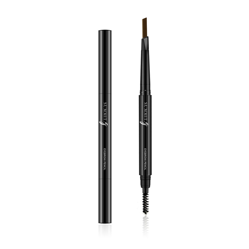 Coffee Brown Eyebrow Pencil Makeup | 2-in-1 Brow Definer & Brow Pencil | Eyes | Summit-Gate