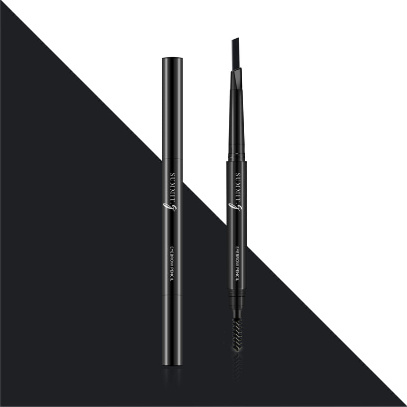 Black Onyx Eyebrow Pencil Makeup | 2-in-1 Brow Definer & Brow Pencil | Eyes | Summit-Gate