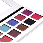 16 Colour Matte Metallic Shimmering Eyeshadow Palette highly pigmented and long stay I Summit Gate