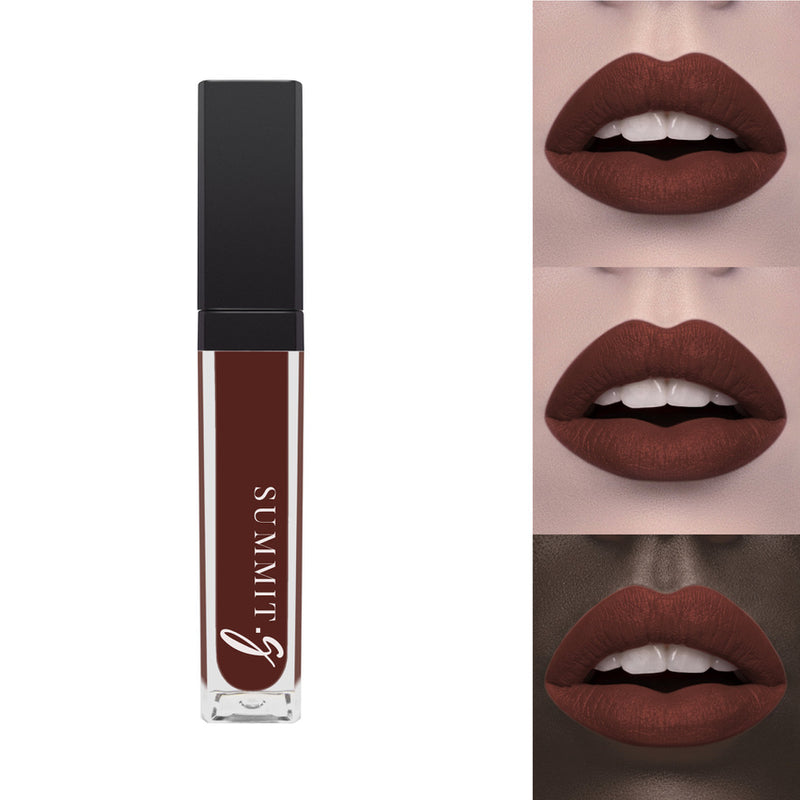 Liquid Matte Lipstick #16 - Pecan I Lip stain | Lips | Highly Pigmented Make-up - Summit-Gate