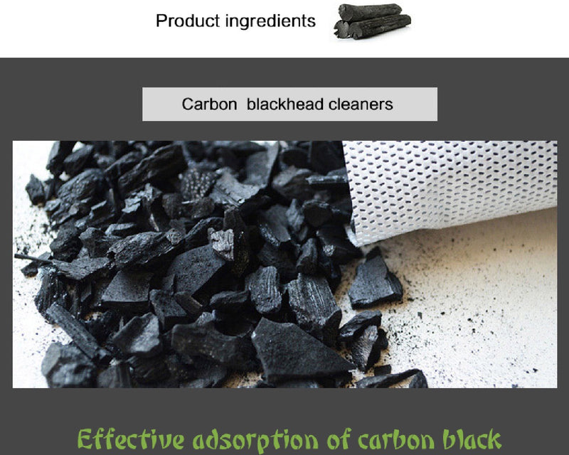 activated charcoal Black peel-off mask (120g)