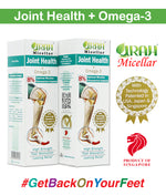 Omega 3 + Micellar Glucosamine Cream | anti inflammation, relief stiffness, swelling, improve cartilage