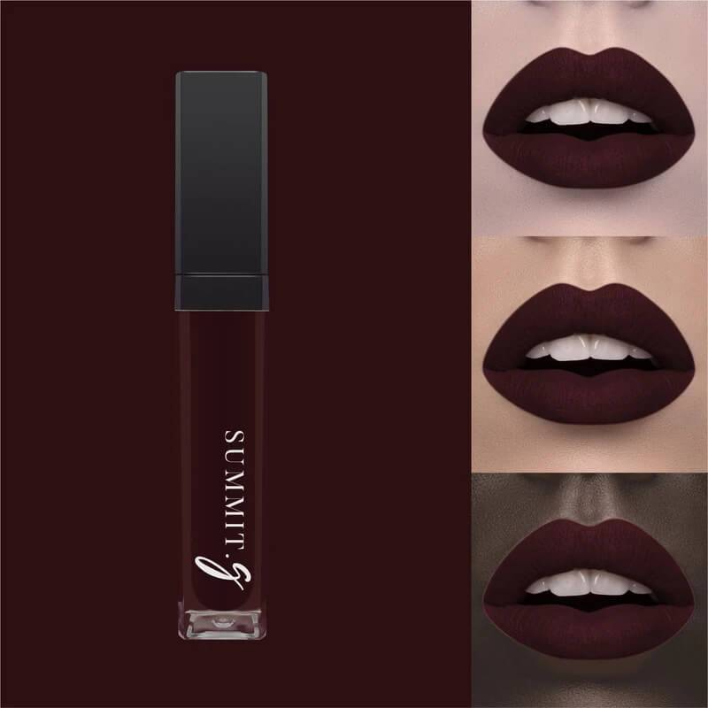 Matte Liquid Lipstick #15 - Luxury I Lip stain | Lips | Highly Pigmented Make-up - Summit-Gate