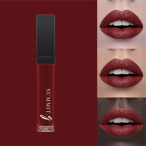 Liquid Matte Lipstick #4 - Mahogany I Lip stain | Lips | Highly Pigmented Make-up - Summit-Gate