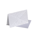 Criss Cross Note Card - Twelve Set
