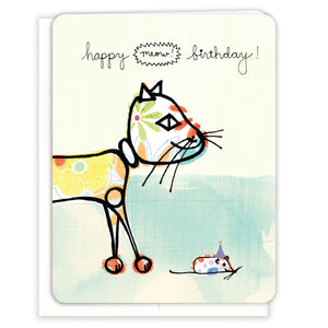 Robot-Cat-Birthday-Card