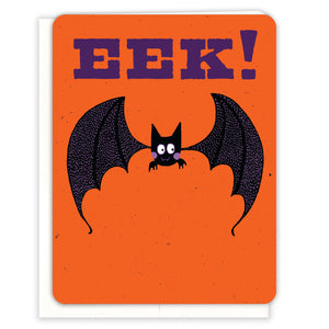 Eek-Bat-Halloween-Card