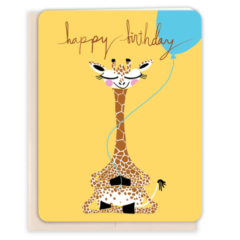 Yoga-Giraffe-Birthday-Card