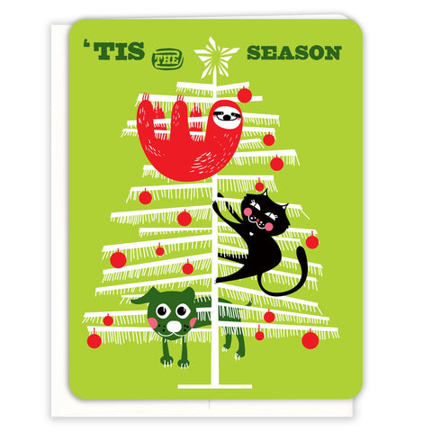 Xmas-Tree-Sloth-Christmas-Card