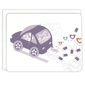 Newlywed-Car-Wedding-Card