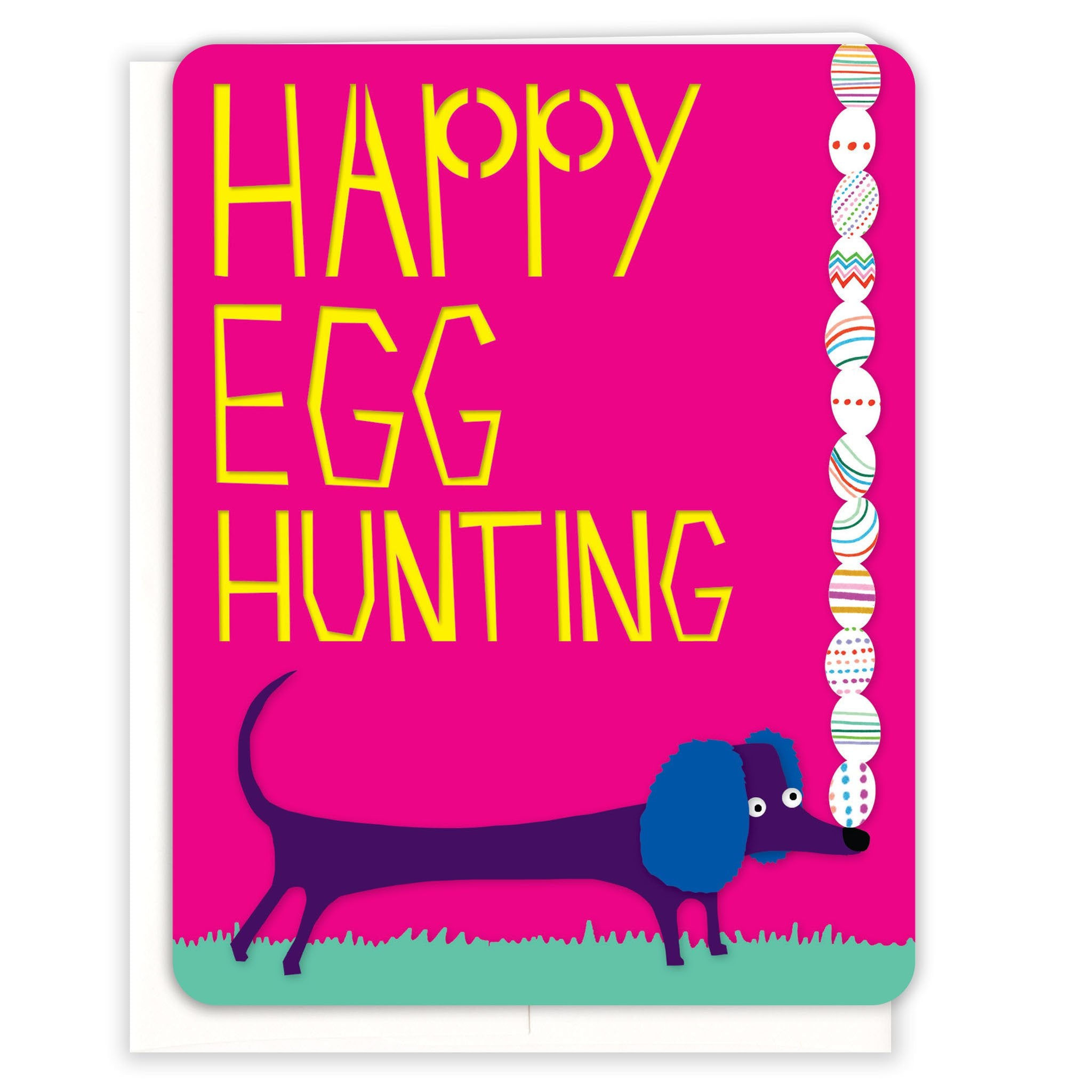 Egg-Hunting-Easter-Card
