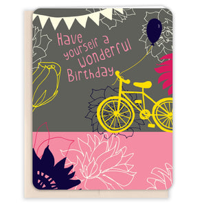 Bicycle-Sunset-Birthday-Birthday-Card