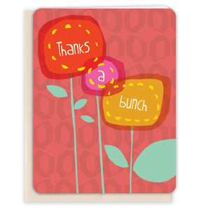 Flower-Bunch-Thanks-Thank-You-Card