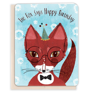 Fox-Says-Birthday-Birthday-Card