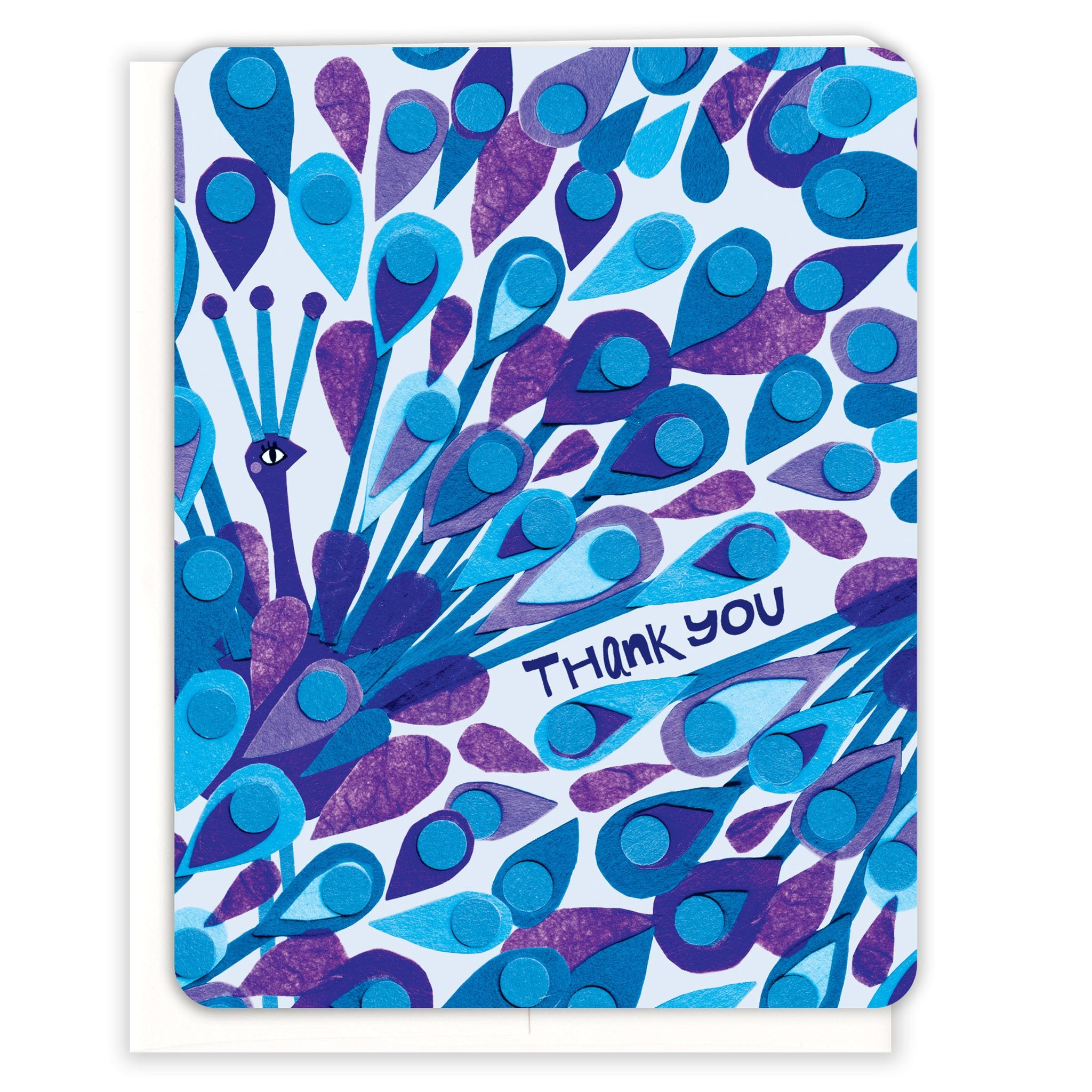 Peacock-Thank-You-Thank-You-Card