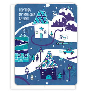 Holiday-Village-Christmas-Card